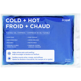 Cryopak Cold + Hot Flexible Gel Compress - 7.5 x 11inch