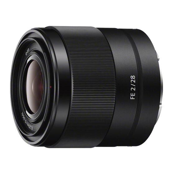 Sony FE 28mm F2 Full-frame E-mount Prime Lens - Black - SEL28F20