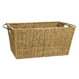 London Drugs Seagrass & Metal Basket - Large