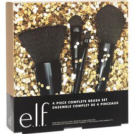 e.l.f. Complete Brush Set - 4 piece