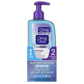 Clean&Clear First Time Acne Kit - Oil-Free