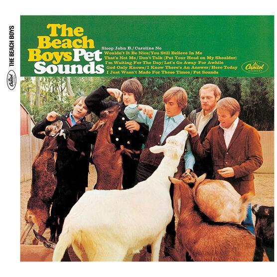 The Beach Boys - Pet Sounds (Mono & Stereo) - CD