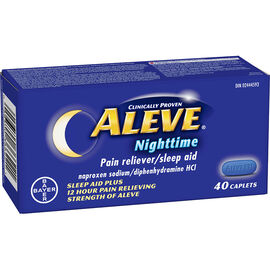 Aleve Nighttime Pain Reliever/Sleep Aid - 40's