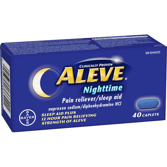 Aleve Nighttime Pain Reliever/Sleep Aid - 40's