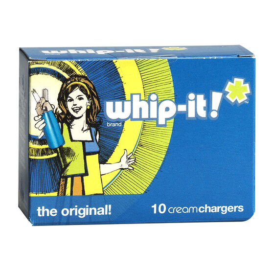 Whip-it Cream Chargers - 10 pack