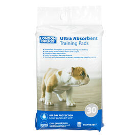 London Drugs Puppy Ultra Absorbent Training Pads - Max - 30s
