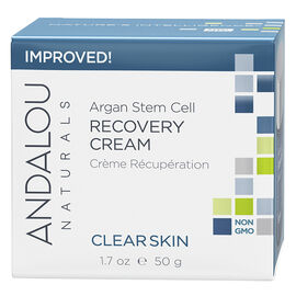 Andalou Naturals CLEAR SKIN Argan Stem Cell Recovery Cream - 50g