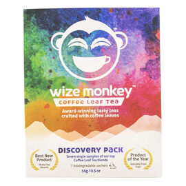 Wize Monkey Coffee Leaf Tea - Discovery Pack - 7 Pouches
