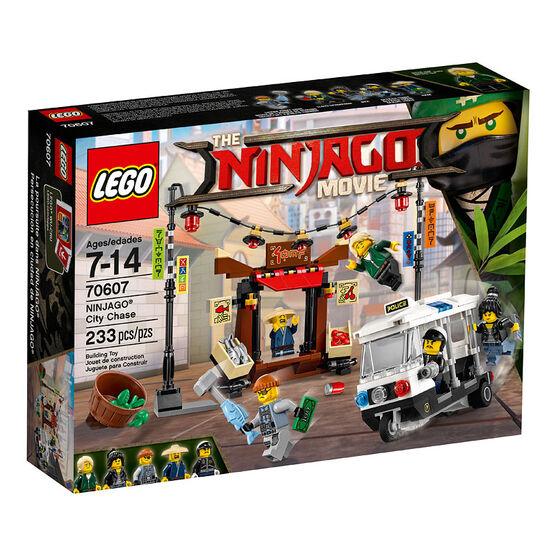 LEGO Ninjago Movie - City Chase