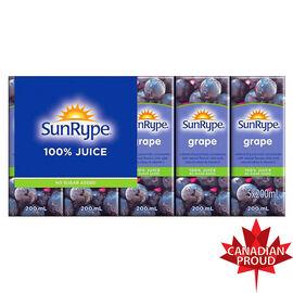 Sun-Rype Juice - Grape - 5 x 200ml