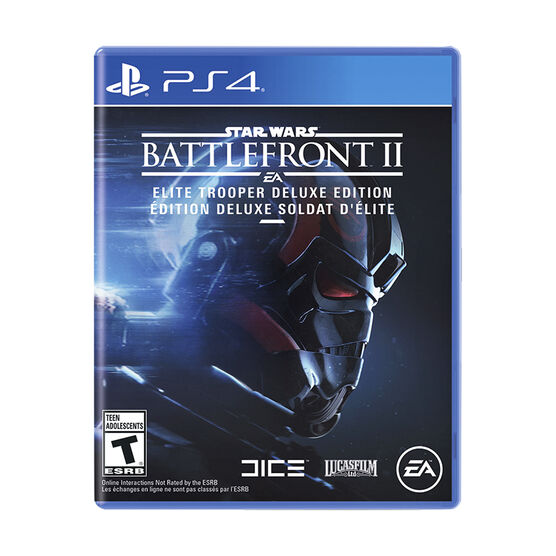 PS4 Star Wars Battlefront 2 Deluxe
