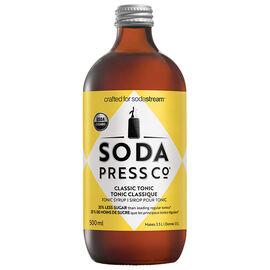 Soda Press Co Organic Soda Syrup - Classic Indian Tonic - 500ml