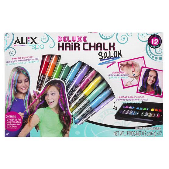 Alex Toys Spa Deluxe Hair Chalk Salon Craft Kit