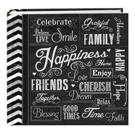 Pioneer Chalkboard Photo Album - 4x6 - EV246CHLK