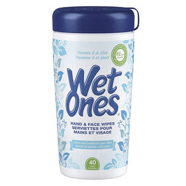 Wet Ones Wipes - Cannister - 40's