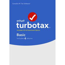 Intuit TurboTax Basic 2018 - 4 Returns - 606124