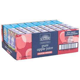 Sun Rype Pure Apple Juice - 8 x 5 x 200ml