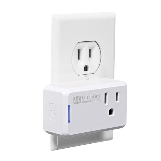 Ultralink Slim Smart Plug - White - One Plug