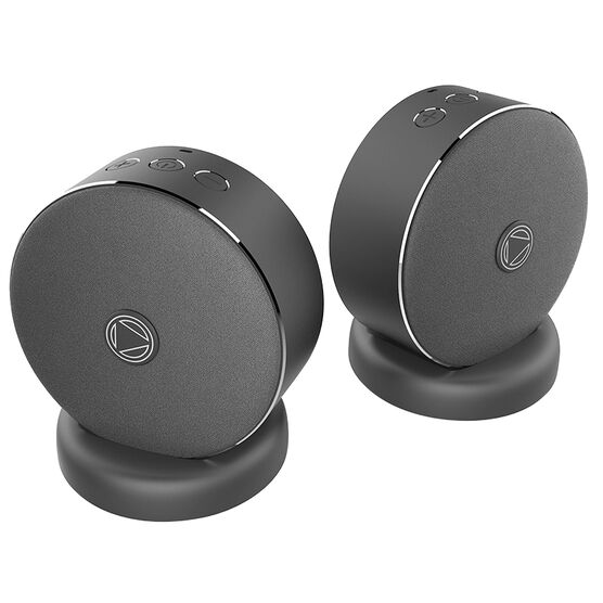 PlayGround Wireless Bluetooth Stereo Speakers - Black - PLAYSTEREO
