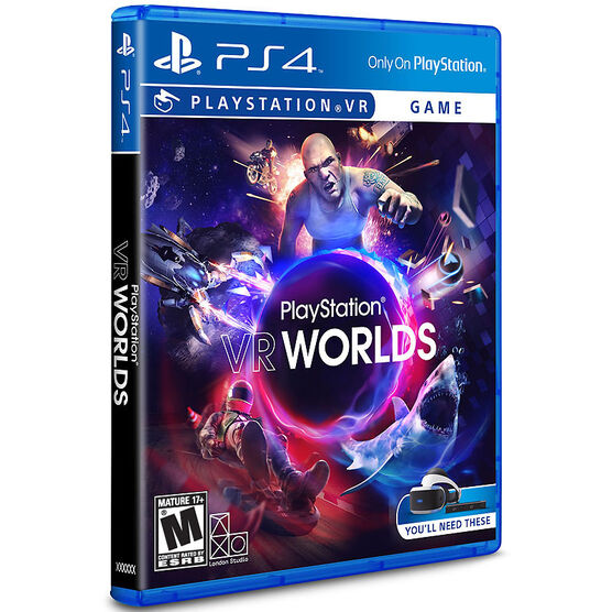PS VR Worlds