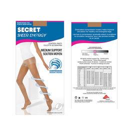 Secret Slimmers Active Leg Pantyhose - B - Beige