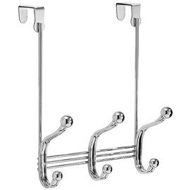 InterDesign York Over The Door Rack - 3 Hooks
