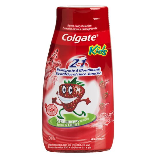 Colgate Kids 2 in 1 Toothpaste - 100ml