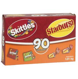 Skittles & Starburst Candy Mix - 90 Pieces