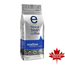 Ethical Bean Coffee - Mellow Medium Roast - Whole Bean - 340g