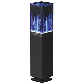 Sylvania Bluetooth Water Tower Speaker - Black - SP118