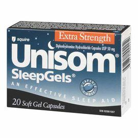 Unisom Sleep Gels - Extra Strength - 20's