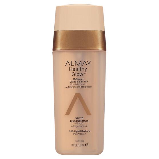 Almay Healthy Glow Makeup & Gradual Self Tan - Light to Medium