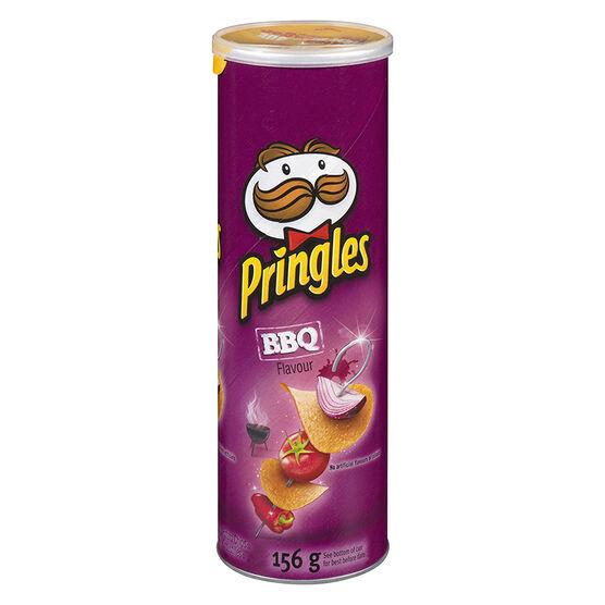 Pringles Potato Chips - BBQ - 156g