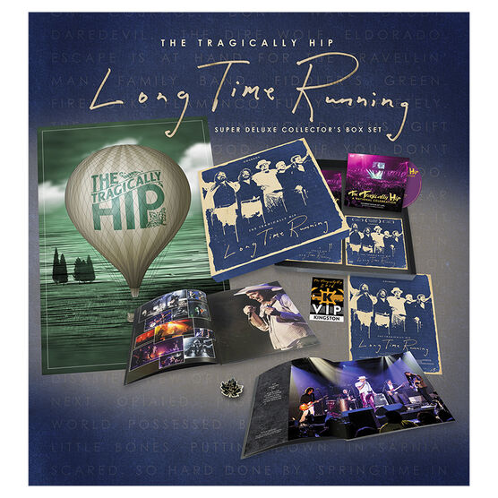 The Tragically Hip: Long Time Running - DVD Combo