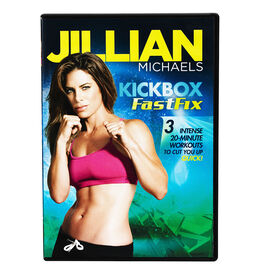 Jillian Michaels Kickbox Fastfix - DVD