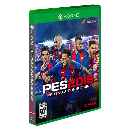 Xbox One Pro Evolution Soccer 18