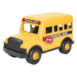 Steel School Bus