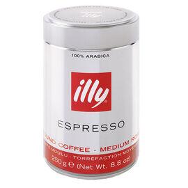 Illy Medium Ground Coffee - Espresso - 250g