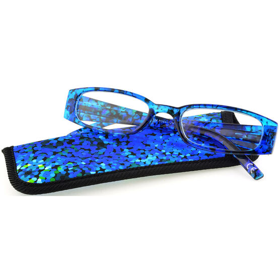 Foster Grant Brynna Reading Glasses with Case - 2.00