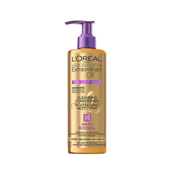 L'Oreal Extraordinary Oil Cleansing Conditioner - Curls and Waves - 400ml