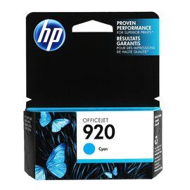 HP 920 Officejet Ink Cartridge - Cyan - CH634AN