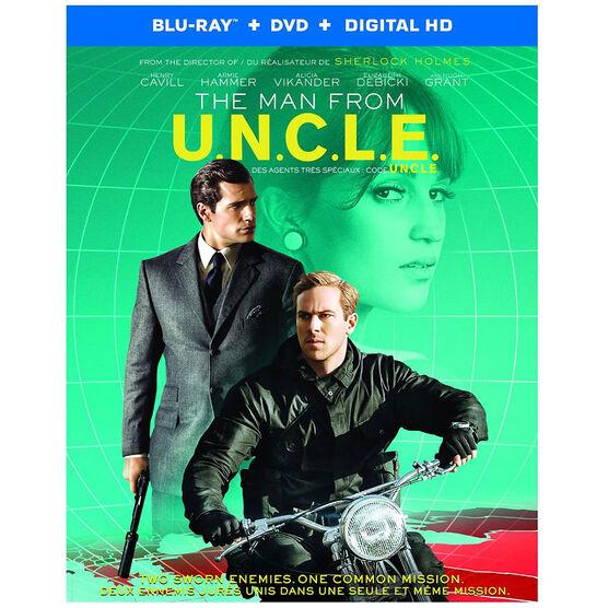 The Man From U.N.C.L.E. (2015) - Blu-ray Combo