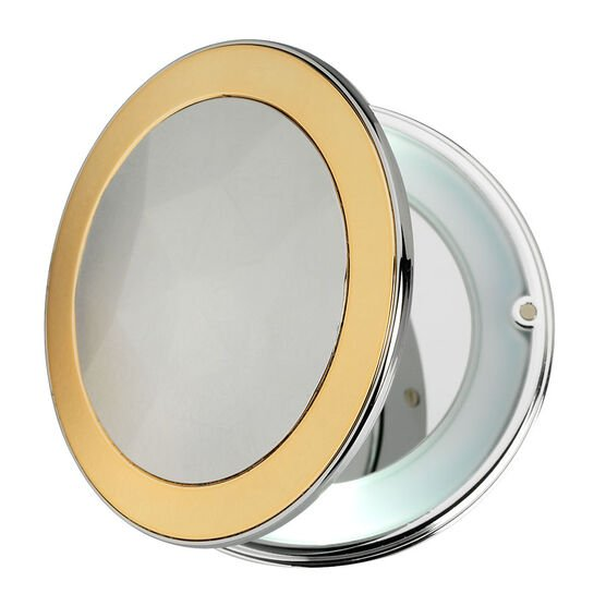 London Premiere Compact with Light - Copper