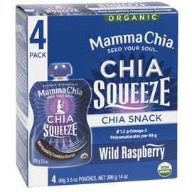 Mamma Chia Squeeze - Wild Raspberry - 4's