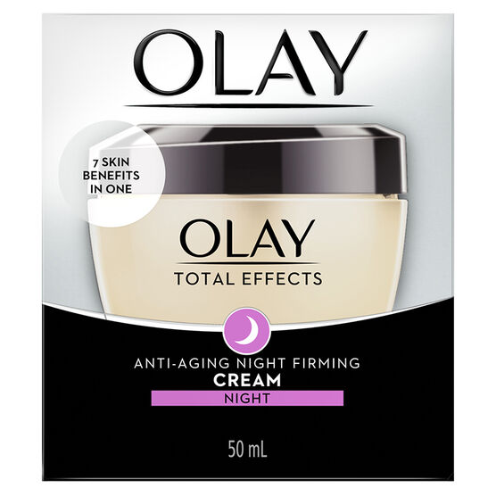 Olay Total Effects Anti-Aging Night Firming Cream - 50ml