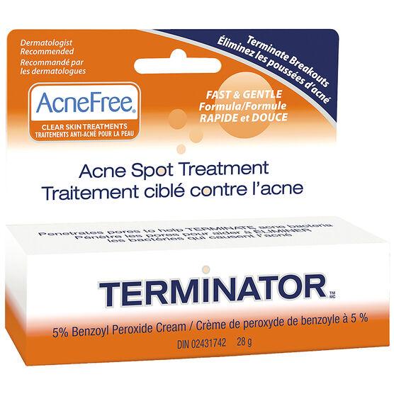 AcneFree Terminator Acne Spot Treatment - 28g