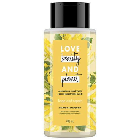 Love Beauty And Planet Hope and Repair Shampoo - Coconut Oil & Ylang Ylang - 400ml