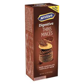 McVities Digestive Thins - Dark Chocolate - 148g