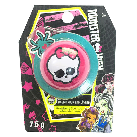 Monster High Lip Balm - Strawberry - 7.5g