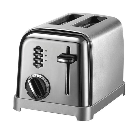 Cuisinart Metal Classic 2-Slice Toaster - CPT-160BCHC